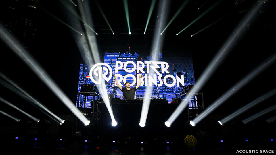 15mm LED Screen Porter Robinson 2014