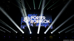 15mm LED Screen Porter Robinson 2014