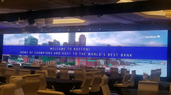 69' Wide x 13' High 3.9mm LED Wall