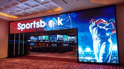 Parx Sportsbook Entrance Marquee