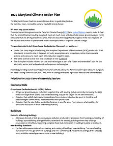 2020 MD Climate Action Plan - 2 pager.jp