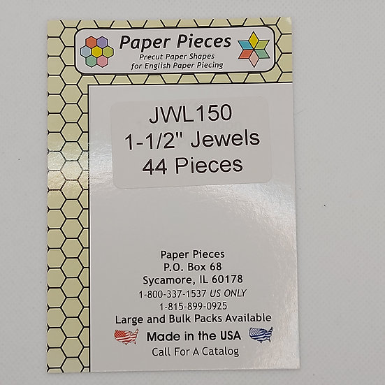 Jewel 1 1/2 inch