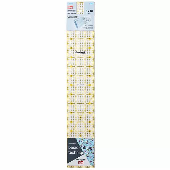 Liniaal 3 x 18 inch Omnigrid