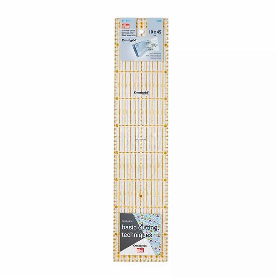 Liniaal 10 x 45 cm Omnigrid