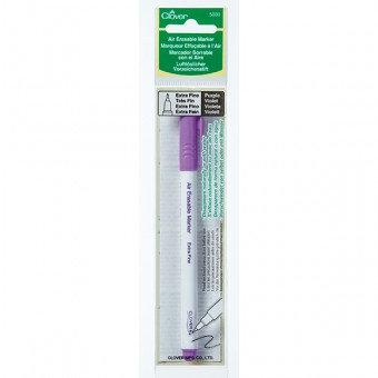 Air erasable marker