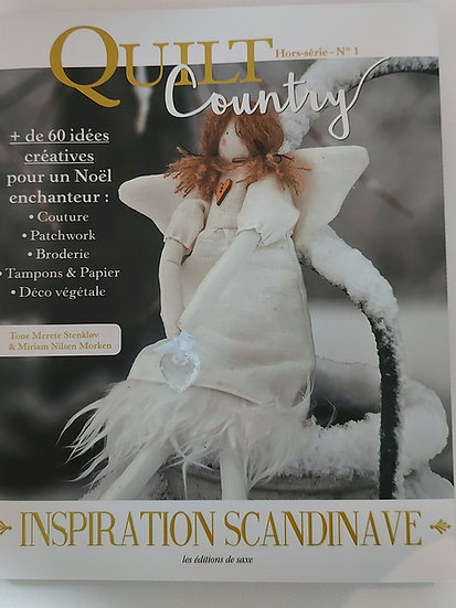 """Quilt Country  no. 1 """" Inspiration scandinave"""""""