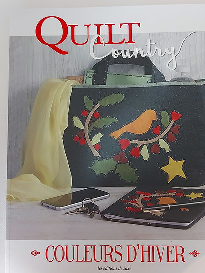 "Quilt Country no. 63 "" Couleurs  d'hiver"""