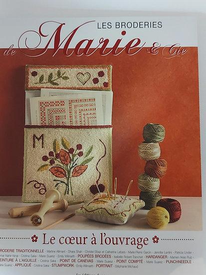 """Marie & Cie no. 12 """" Le coeur a l'ouvrage """""""