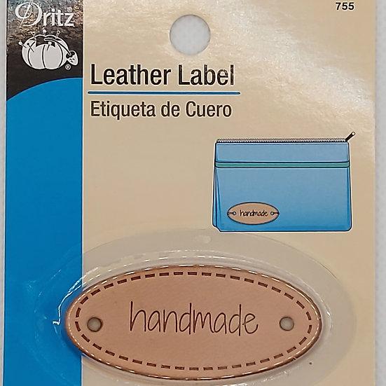 "Label ""handmade"" leer"