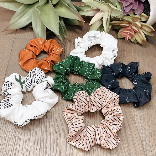 Scrunchies old west/summer collection