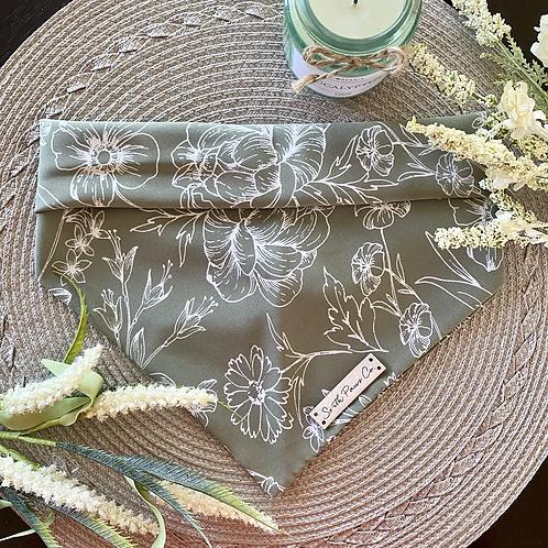 Blooming Sage Bandana