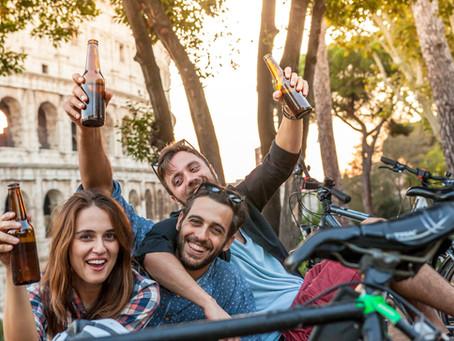 Alkoholkonsum und Radfahren