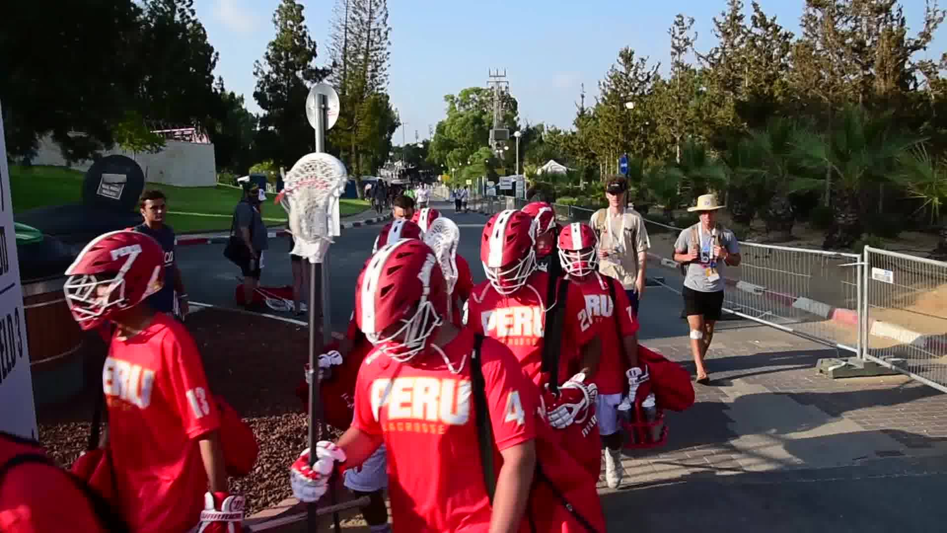 2018 FIL WLC Peru Lacrosse highlights