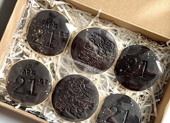 Custom Cookies- Mini Pack (6)