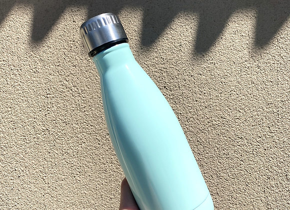 Personalised Water Bottle 350ml (Turquoise)