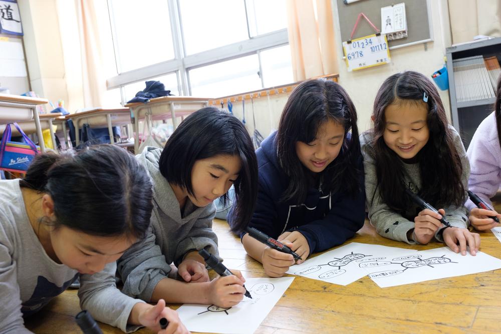 創造力が溢れる授業