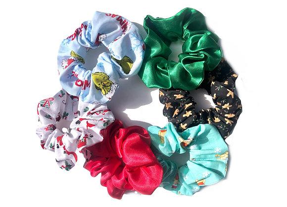 Super Bundle-Christmas Scrunchies