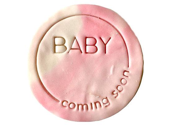 Baby Coming Soon- Cookies