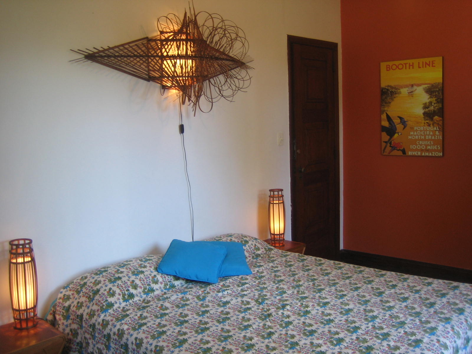 Local artisans lamp features