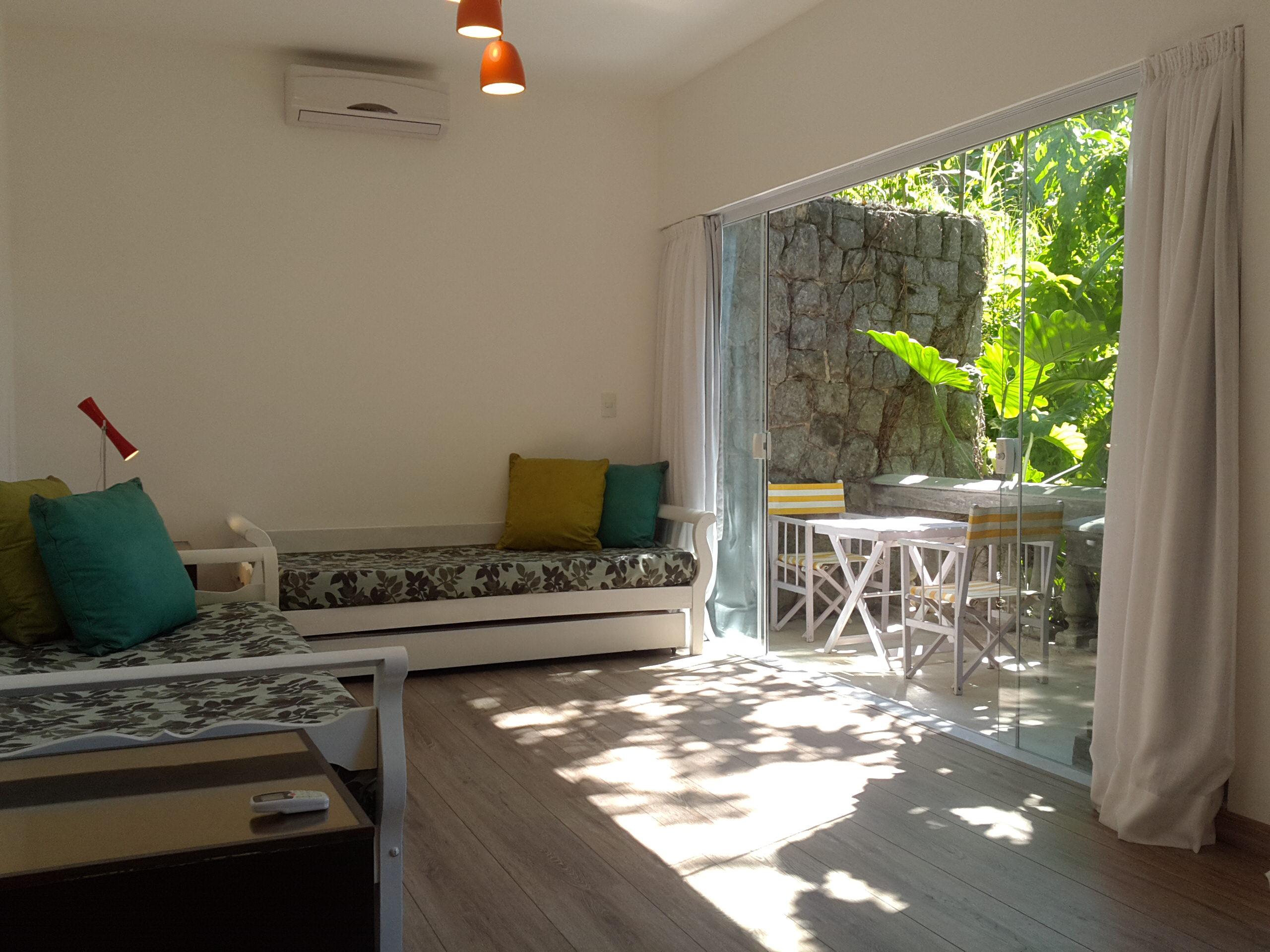 Living room with varanda