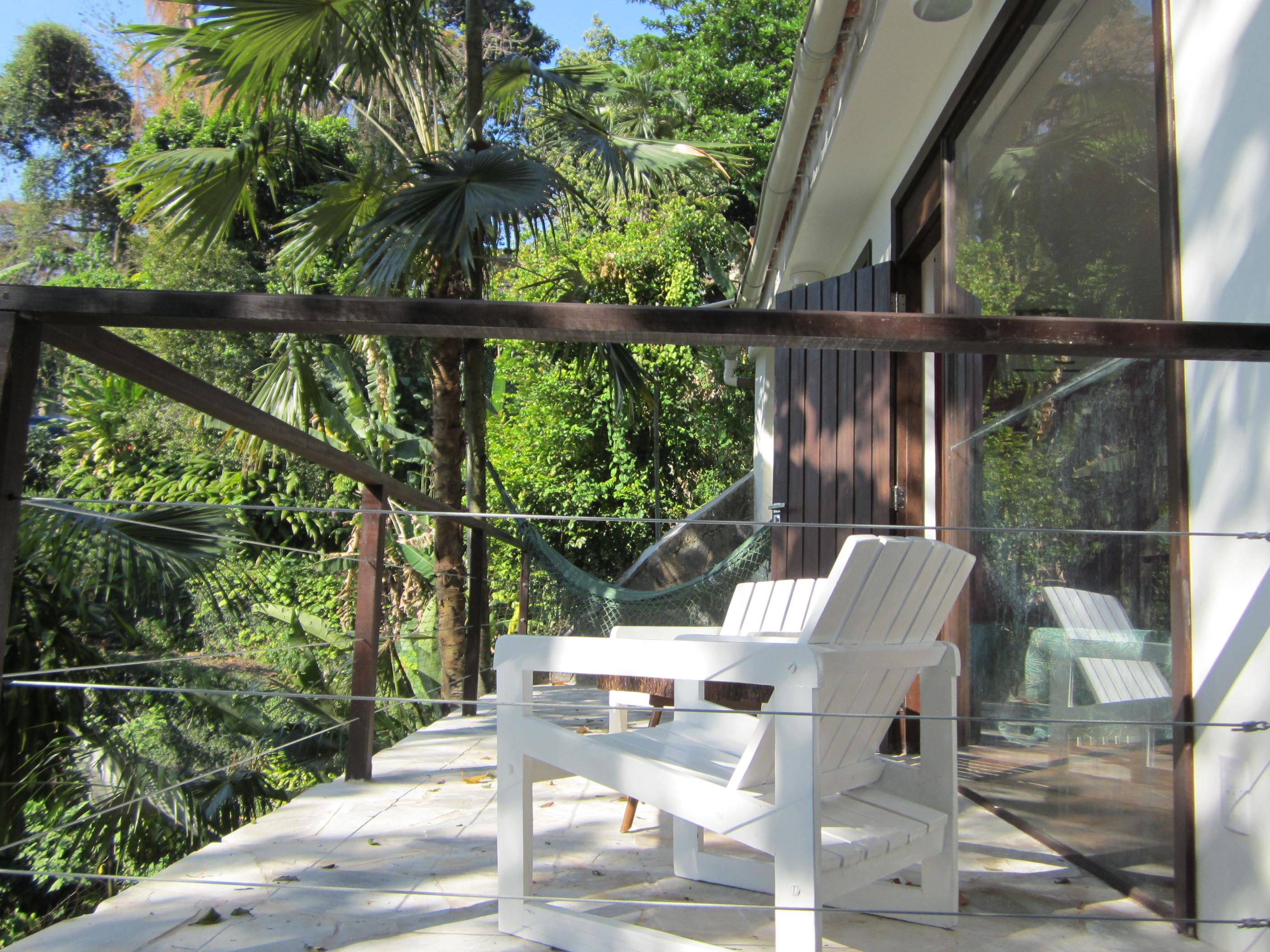Private terrace of the Bungalow