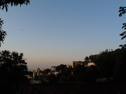 View over Santa Teresa