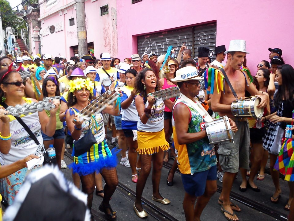Local Carnaval street party