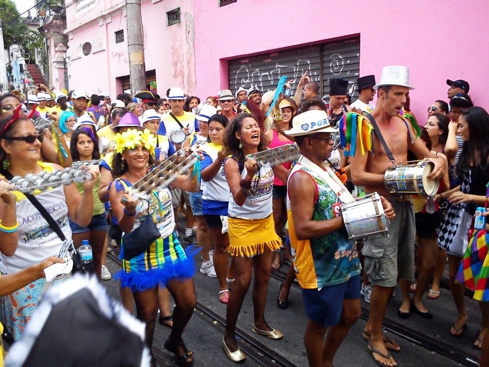 Bloco de Carnaval do bairro