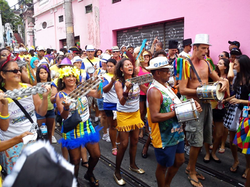 Carnaval avec les residents
