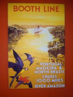 Ancienne poster de voyage