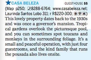 Guest House Rio de Janeiro Santa Teresa Bed and Breakfast