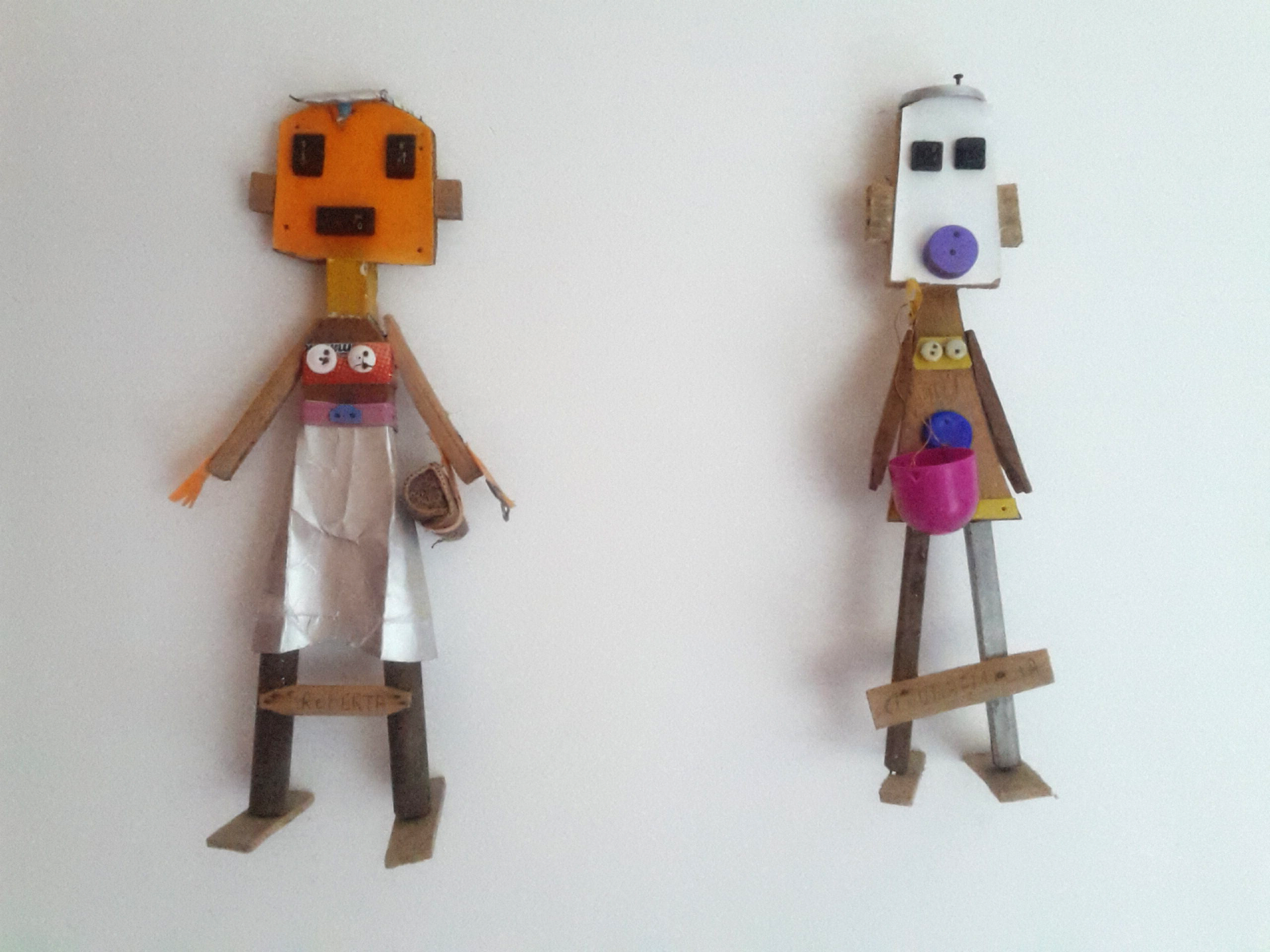 Local artists recycled dolls