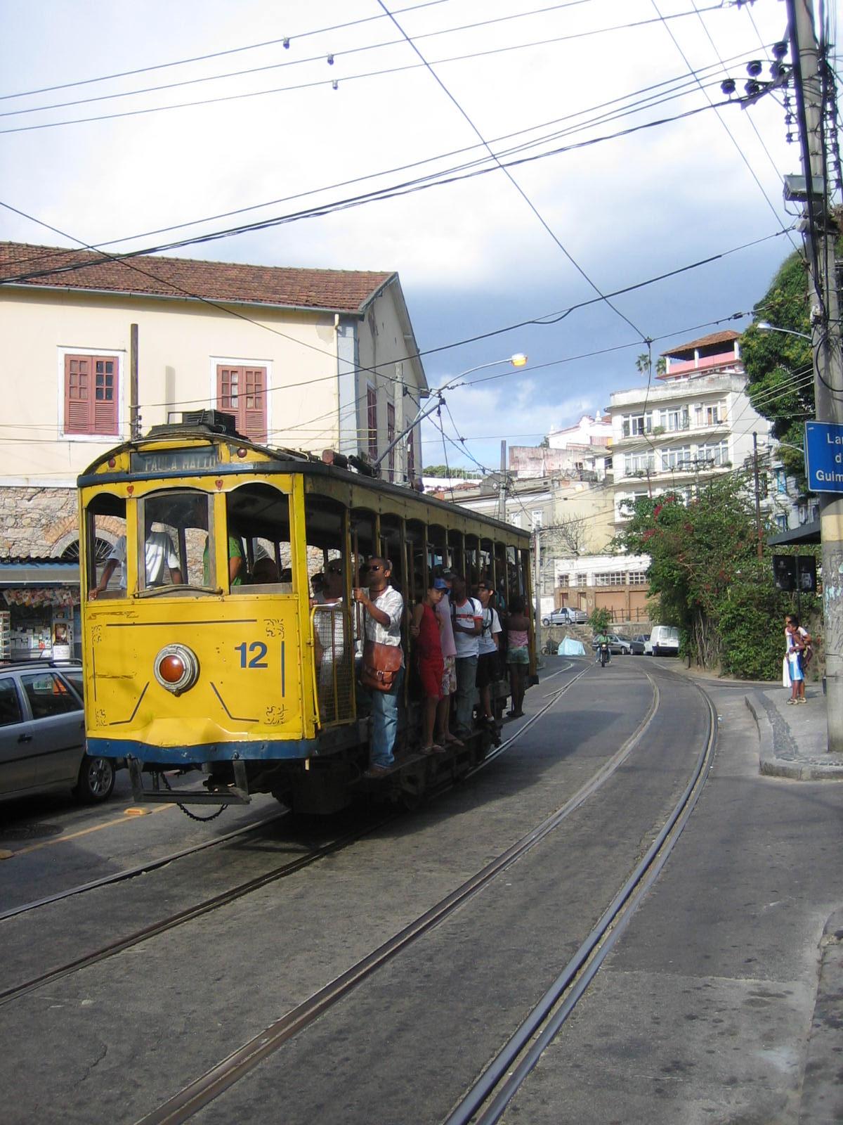 The Bonde or tram of Santa Teresa