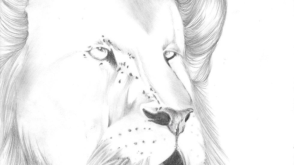 """Lions Roar"" by artist: Tori Michelle Carter"