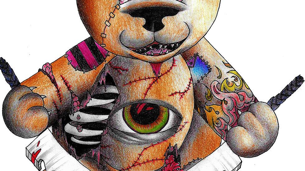 """Evil Teddy"" by artist: Tori Michelle Carter"