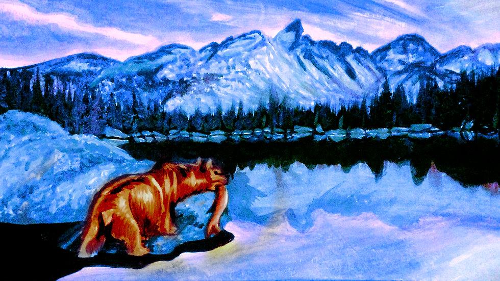 """""""Hunter"""" by artist: Tori Michelle Carter"""