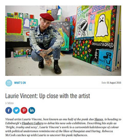 Interview with Laurie Vincent for i-on Magazine