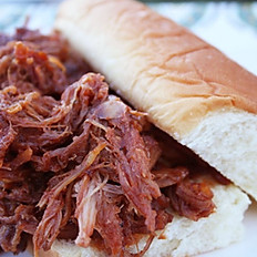Pulled Pork or BBQ Chicken Roll Combo