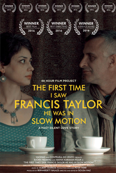 SHORT FILM THE FIRST TIME I SAW FRANCIS TAYLOR HE WAS IN SLOW MOTION BY SOUSA HAZ