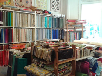 The Back room at Country Threads, Bath - patchwork and quilting shop