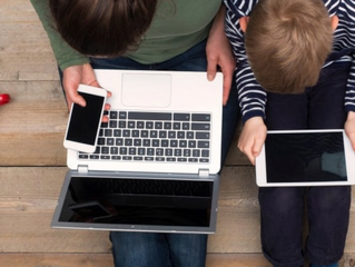 Are you following the same digital rules you set for your kids?