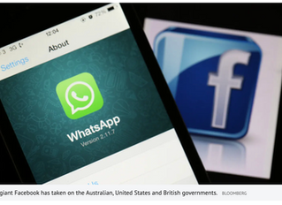 Facebook refuses to compromise on privacy, firing back at Australia, US and UK