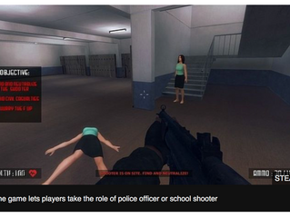 Steam store school-shooting game 'appalling'