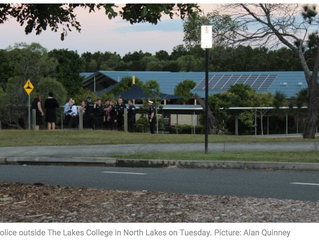 Teen charged over online threat to North Lakes school
