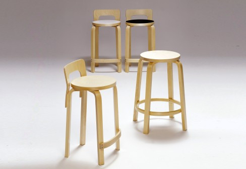 stool 60, Alvar Aalto, 1933,  이미지출처 : www.furniturefile.co.uk