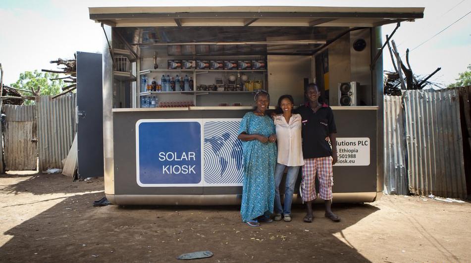 Solar Kiosk. 이미지 출처 : solarkiosk.eu
