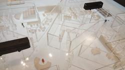 졸업작품 실내건축디자인 모형