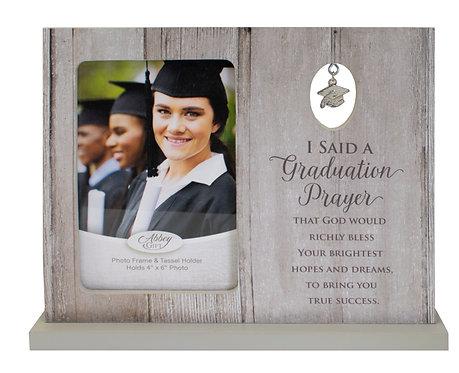 "Graduation Charm Frame, 4"" x 6"" photo"