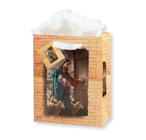 Jesus Knocking at the Door Gift Bag