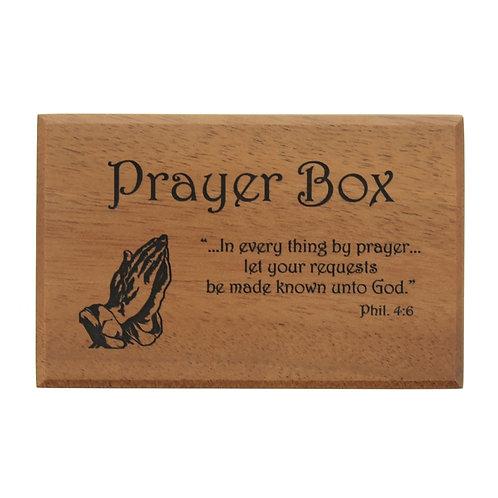 Mahogany PrayerBox